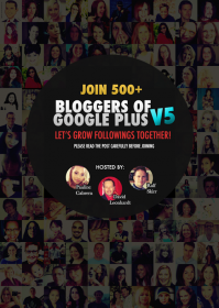 Google Plus Blogger Community