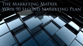 The Marketing Matrix – Your 90 Second Marketing Plan