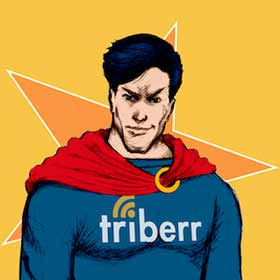 Grow Your Business with Triberr: #1 Networking - the-incredible-triberr-man