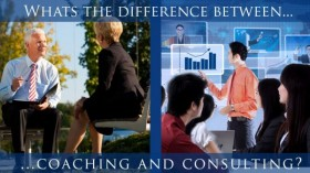 What's The Difference Between Coaching And Consulting?
