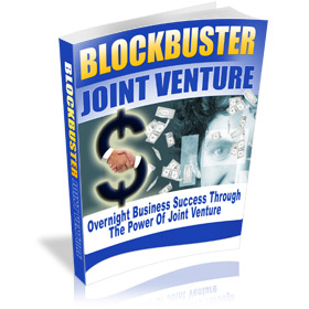 Free E-book Blockbuster Joint Ventures
