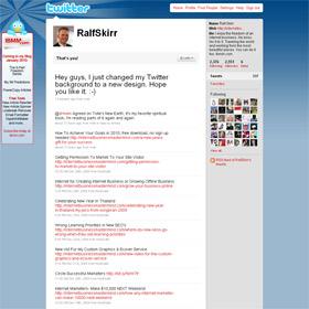 Ralf Skirr's Twitter Background