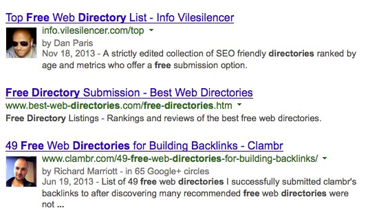 The Little Big Horn Strategy of Link Building - Ranking-for-Free-Directories