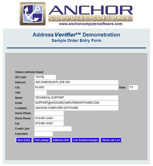 Address-Verifier