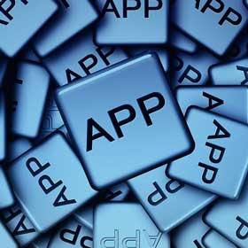 Text: App