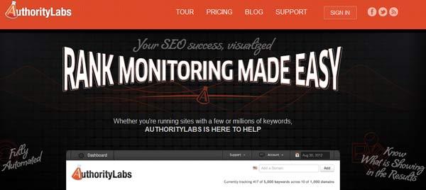 screenshot authoritylabs