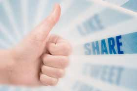 Getting More Fans By Promoting Your Facebook Page - Share Your Quality Content