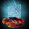 qrcode and car