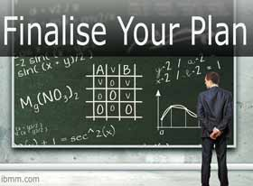 So You Want To Be An Entrepreneur? - Finalise Your Plan